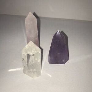 Crystal wands